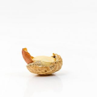peanut residues
